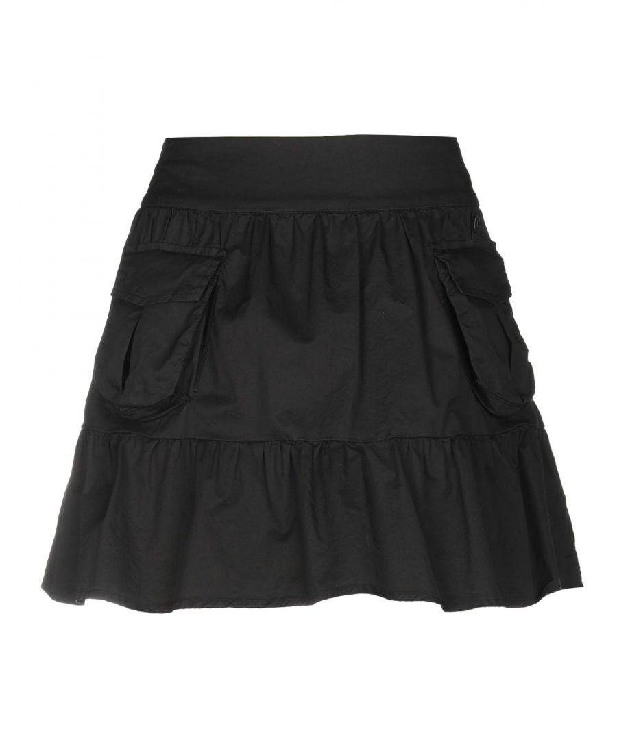 Image for Galliano Black Cotton Skirt