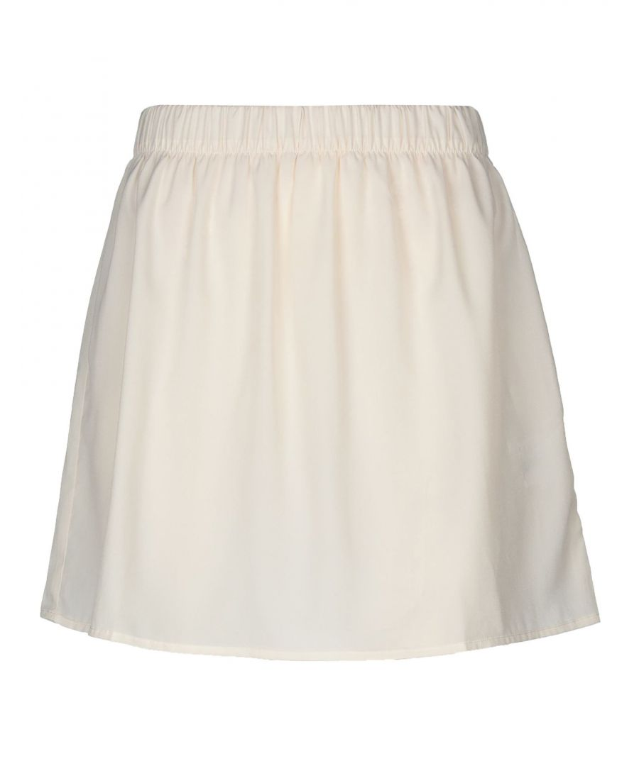 Image for SKIRTS Semicouture Ivory Woman Cotton