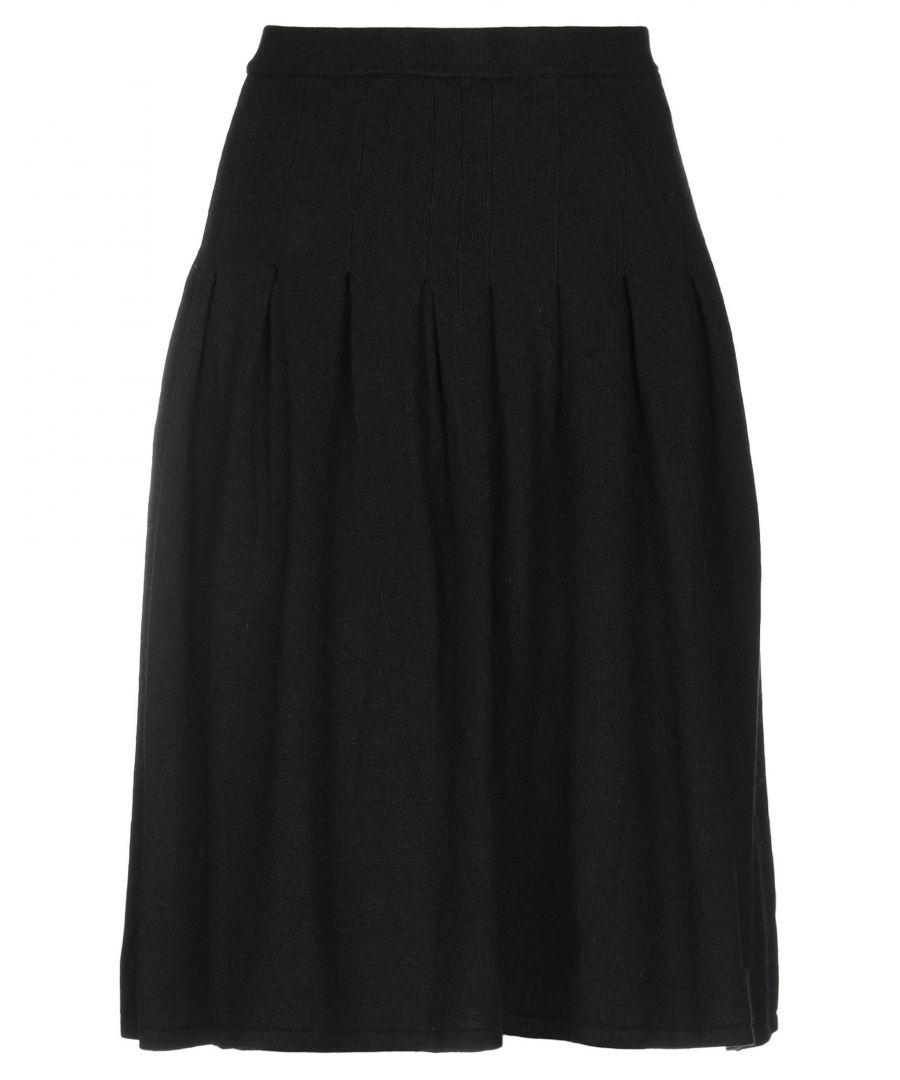Image for Pierre Balmain Black Knit Skirt