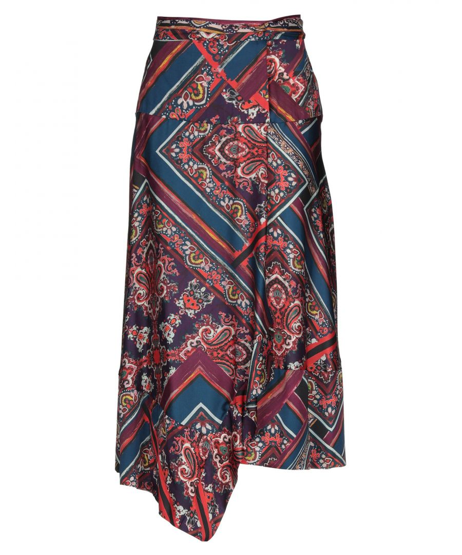 Image for Twenty Easy By Kaos Garnet Floral Print Skirt