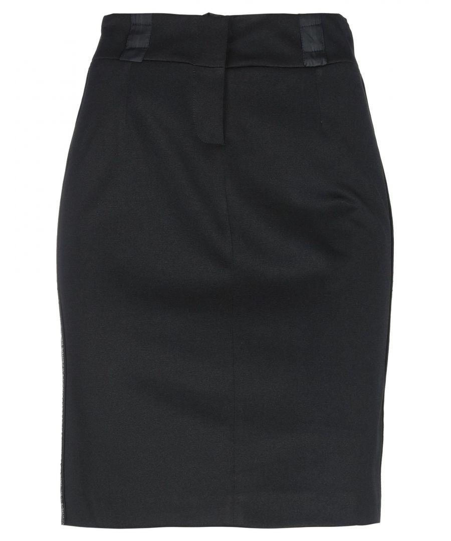 Image for Pianurastudio Black Pencil Skirt
