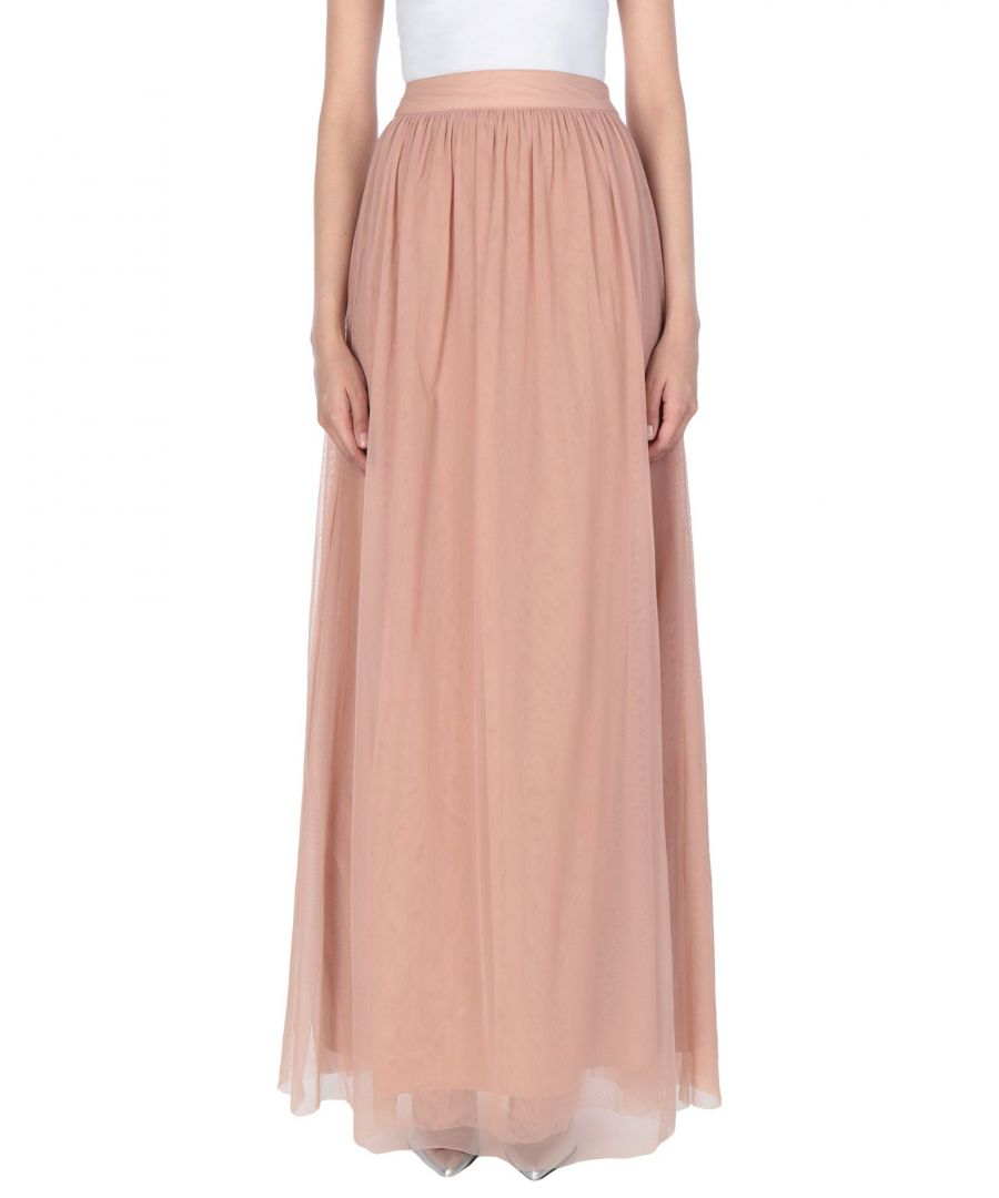 Image for La Kore Pastel Pink Full Length Skirt