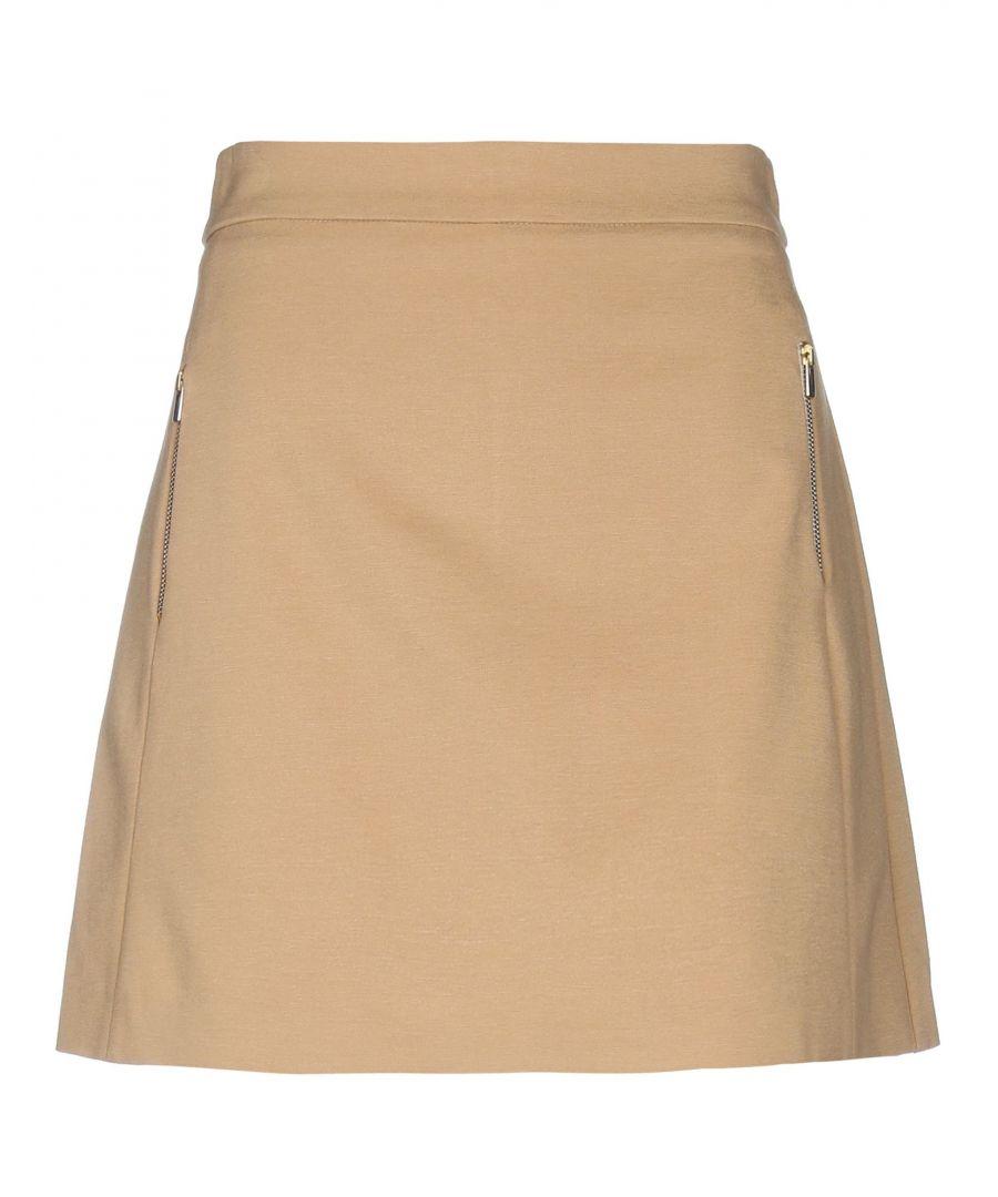 Image for Annarita N Camel Skirt