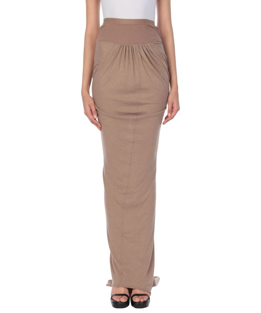 Image for Rick Owens Lilies Sand Full Length Skirt