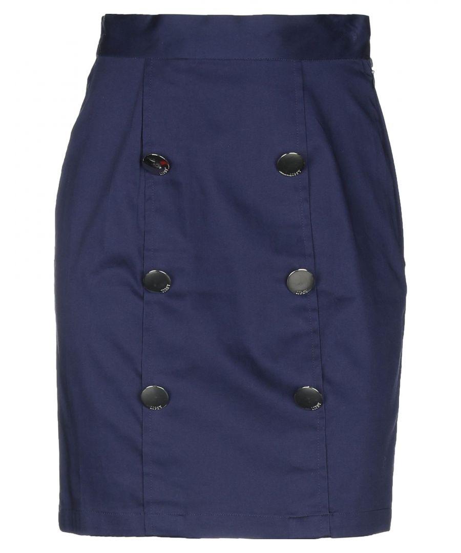 Image for Lipsy Dark Blue Cotton Skirt