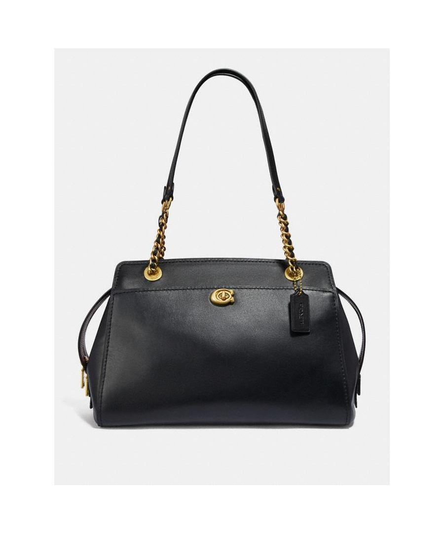 Image for COACH Women's Refined Calf Leather Parker Carryall