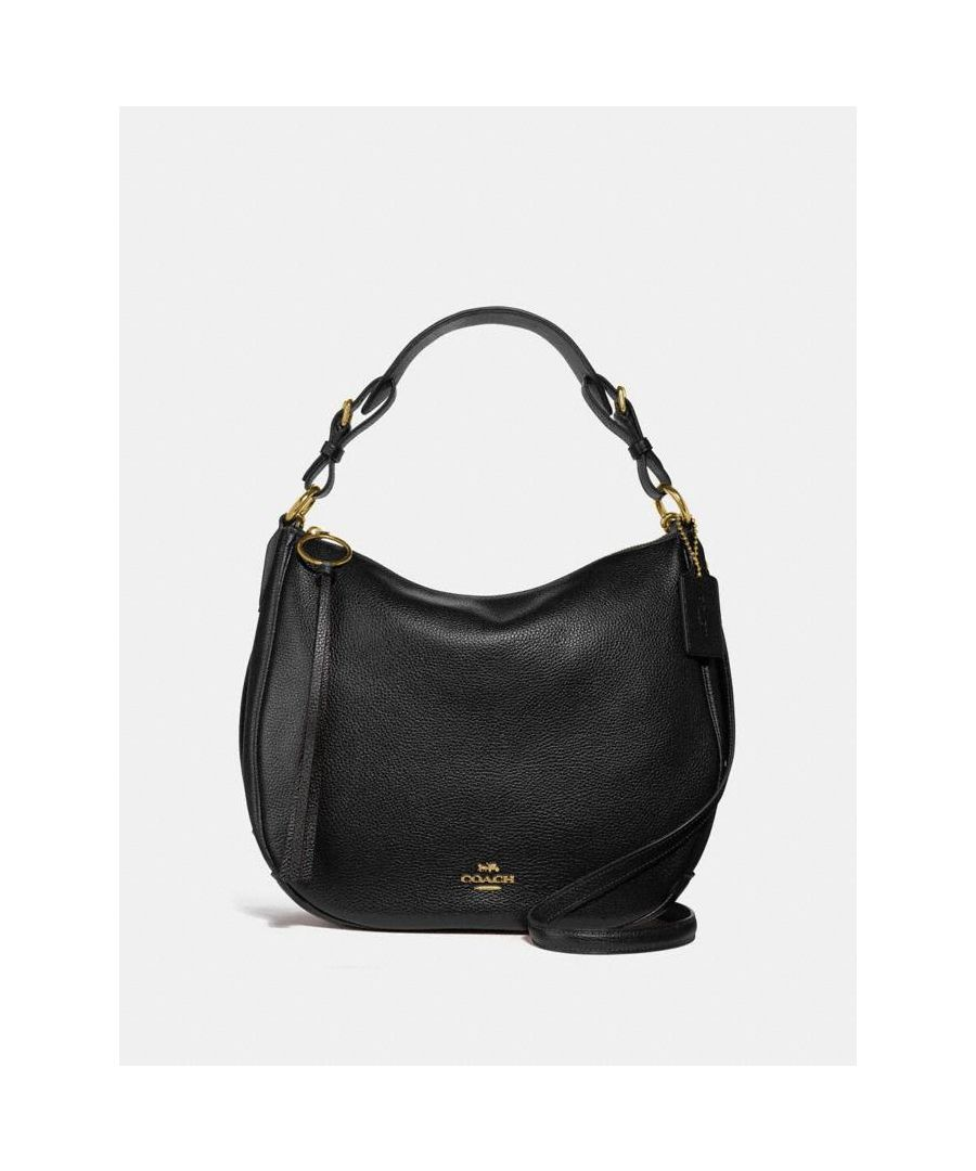 Image for COACH Sutton Hobo in Polished Pebble Leather