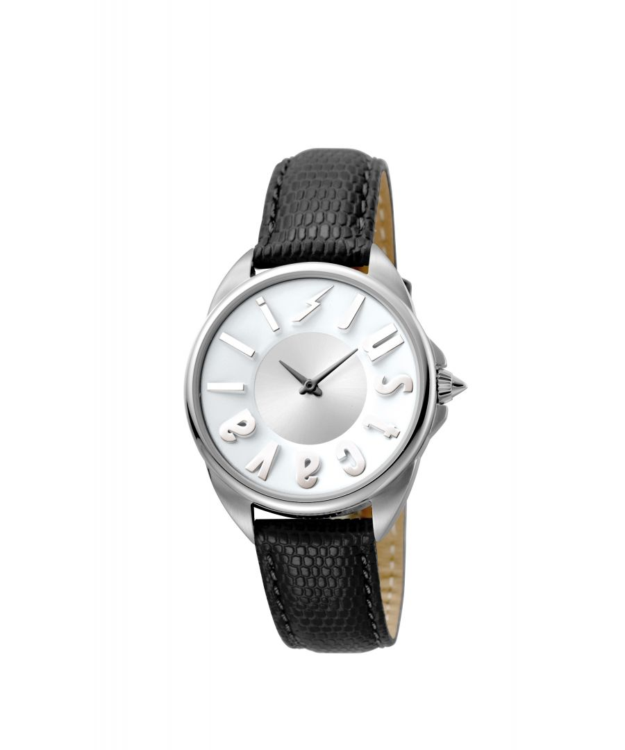 Image for Just Cavalli JC1L008L0015 LOGO Womens Silver  Watch