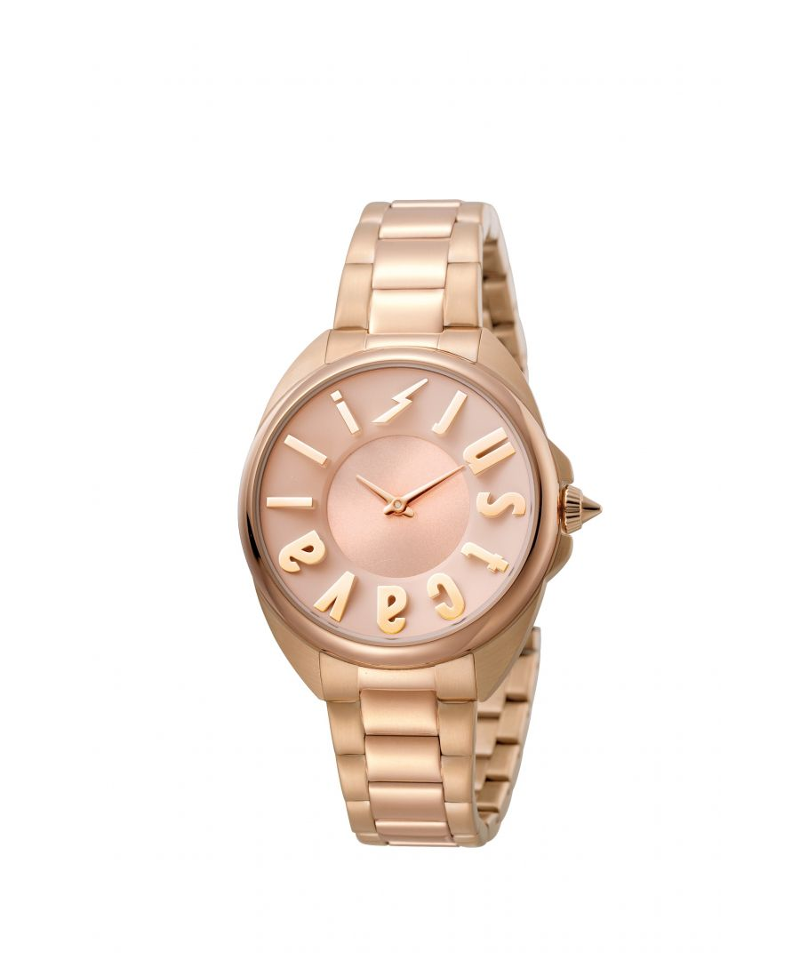 Image for Just Cavalli JC1L008M0095 Womens rose gold watch with rose gold dial