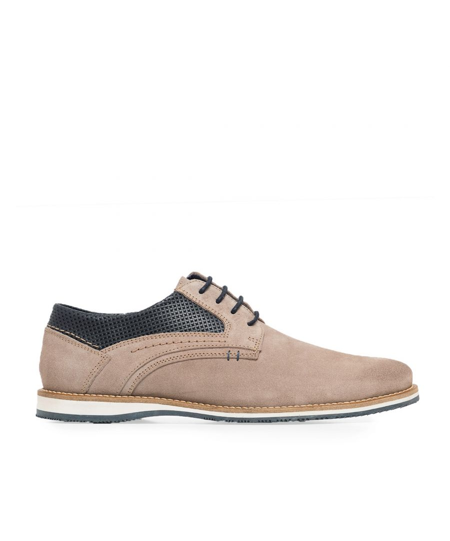 Image for Leather Lace Up Shoes for Men