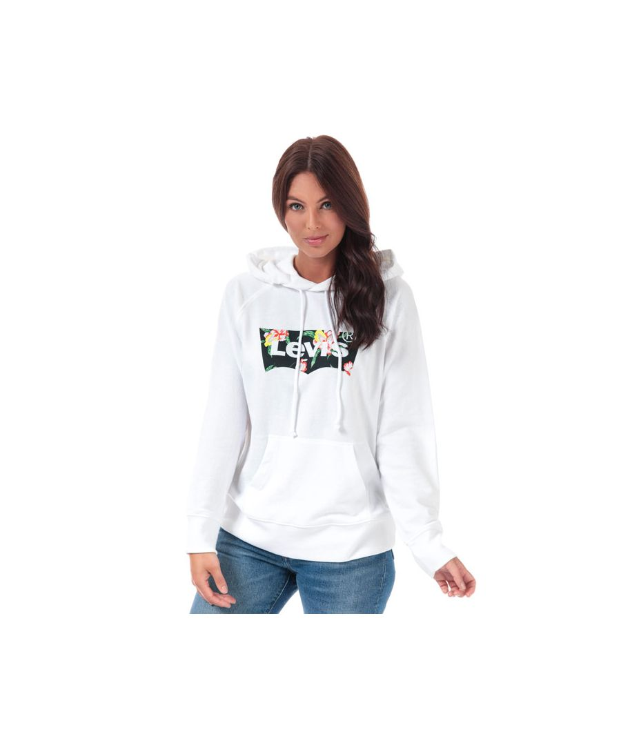 Image for Women's Levis Graphic Sport Hoody in White