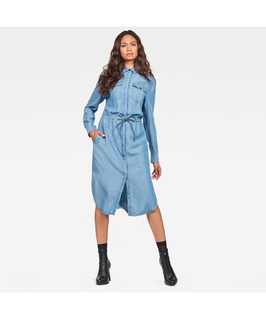 Image for G-Star Raw Rovic Maxi Shirt Dress