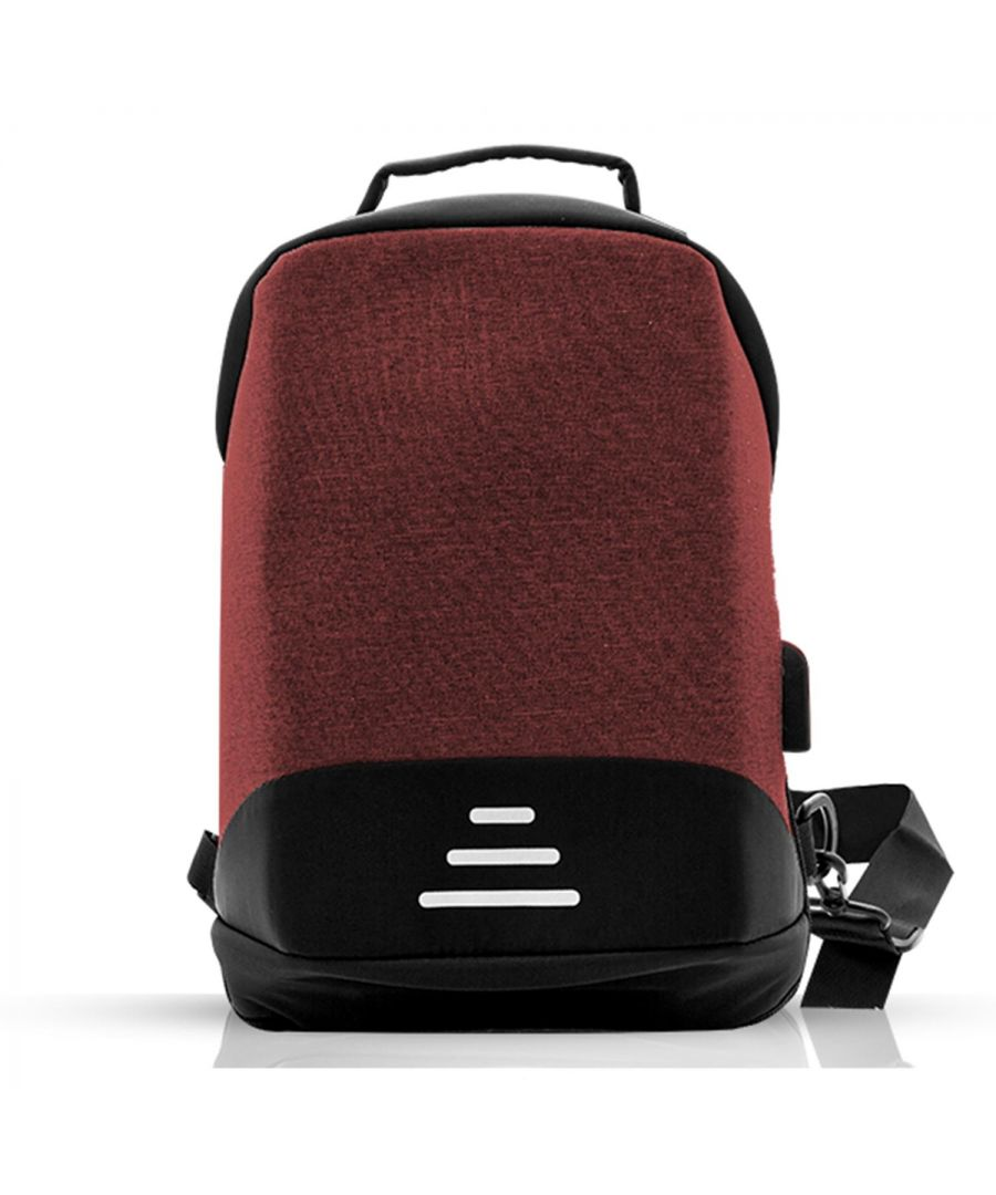 Image for Aquarius Advanced Anti-Theft Backpack with USB Charging Port - Red