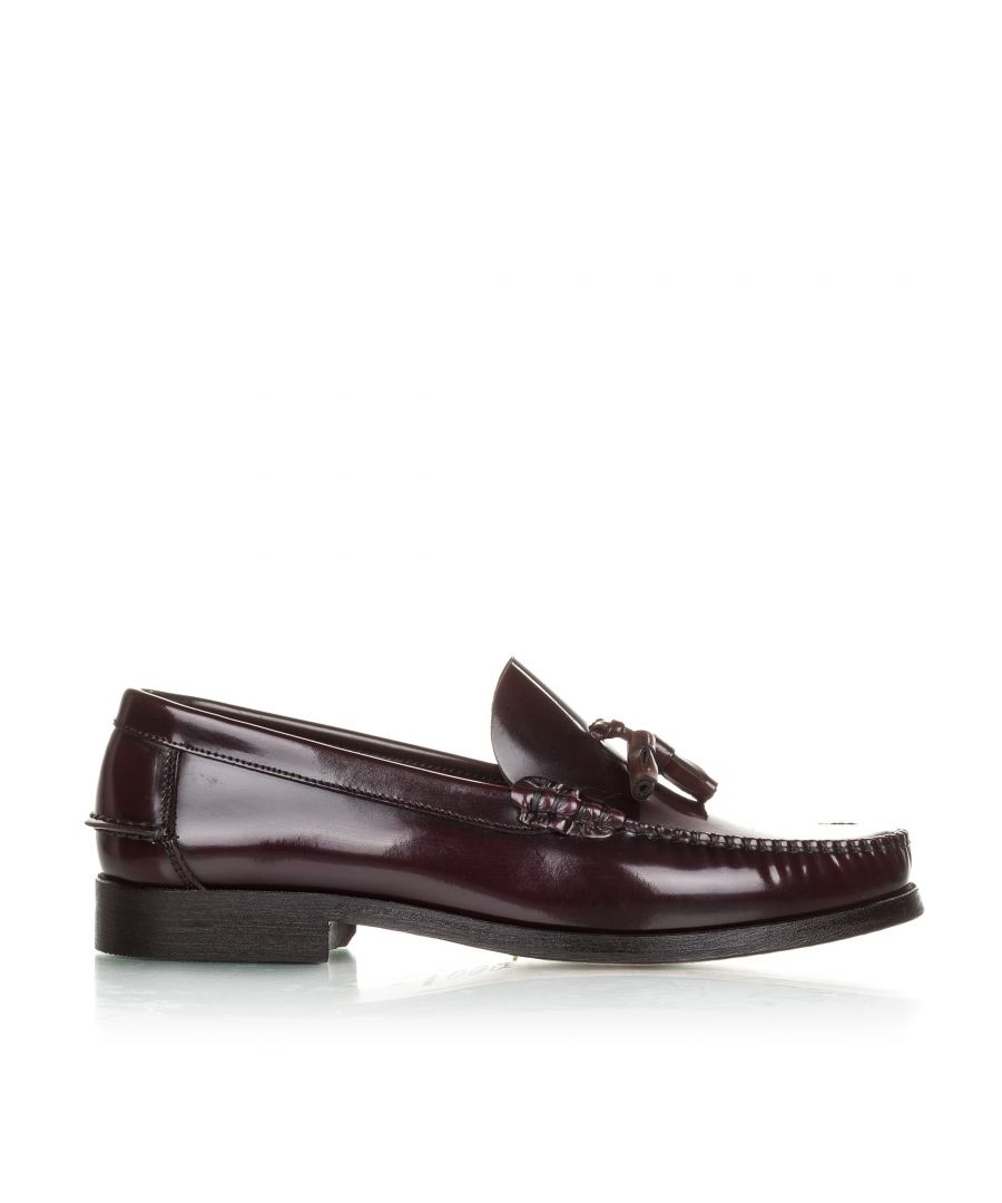 Image for Castellanisimos Leather Moccasins with Tassels Elegant and Comfortable Classic Shoes