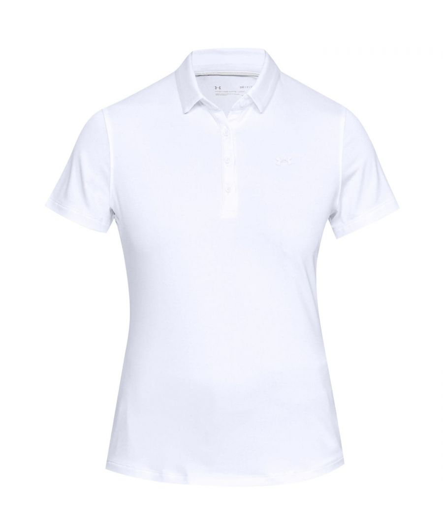 Image for Under Armour Womens Zinger Short Sleeve Collar Golf Polo Shirt Top Ladies