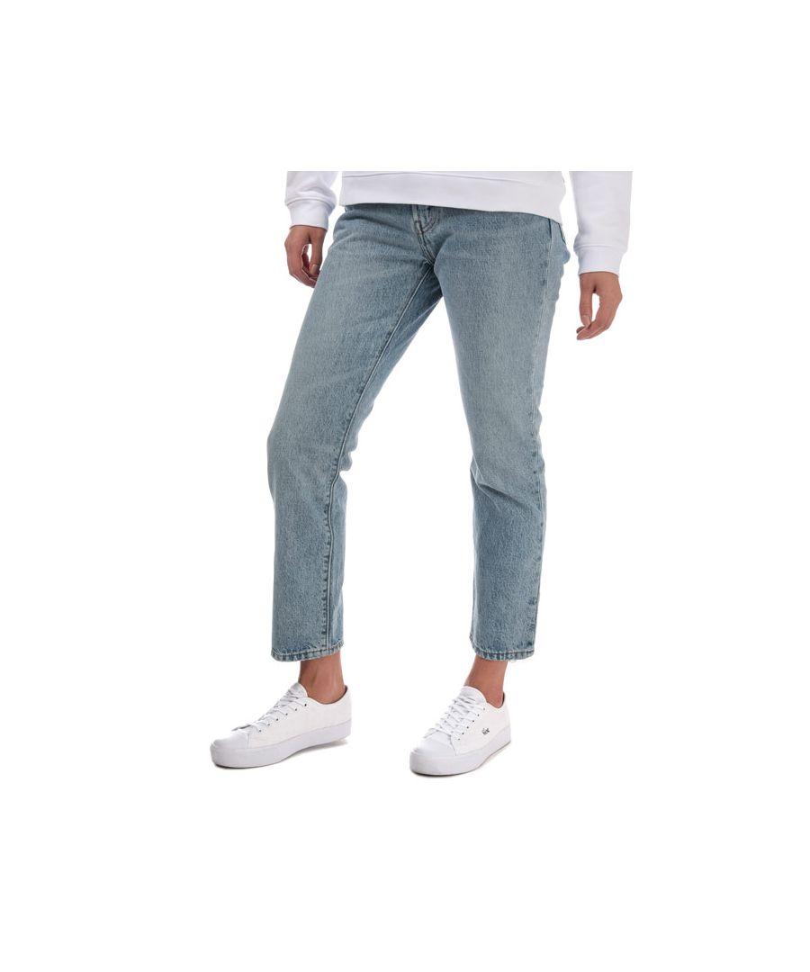 Image for Women's Levis 501 Crop Lovefool Jeans in Denim