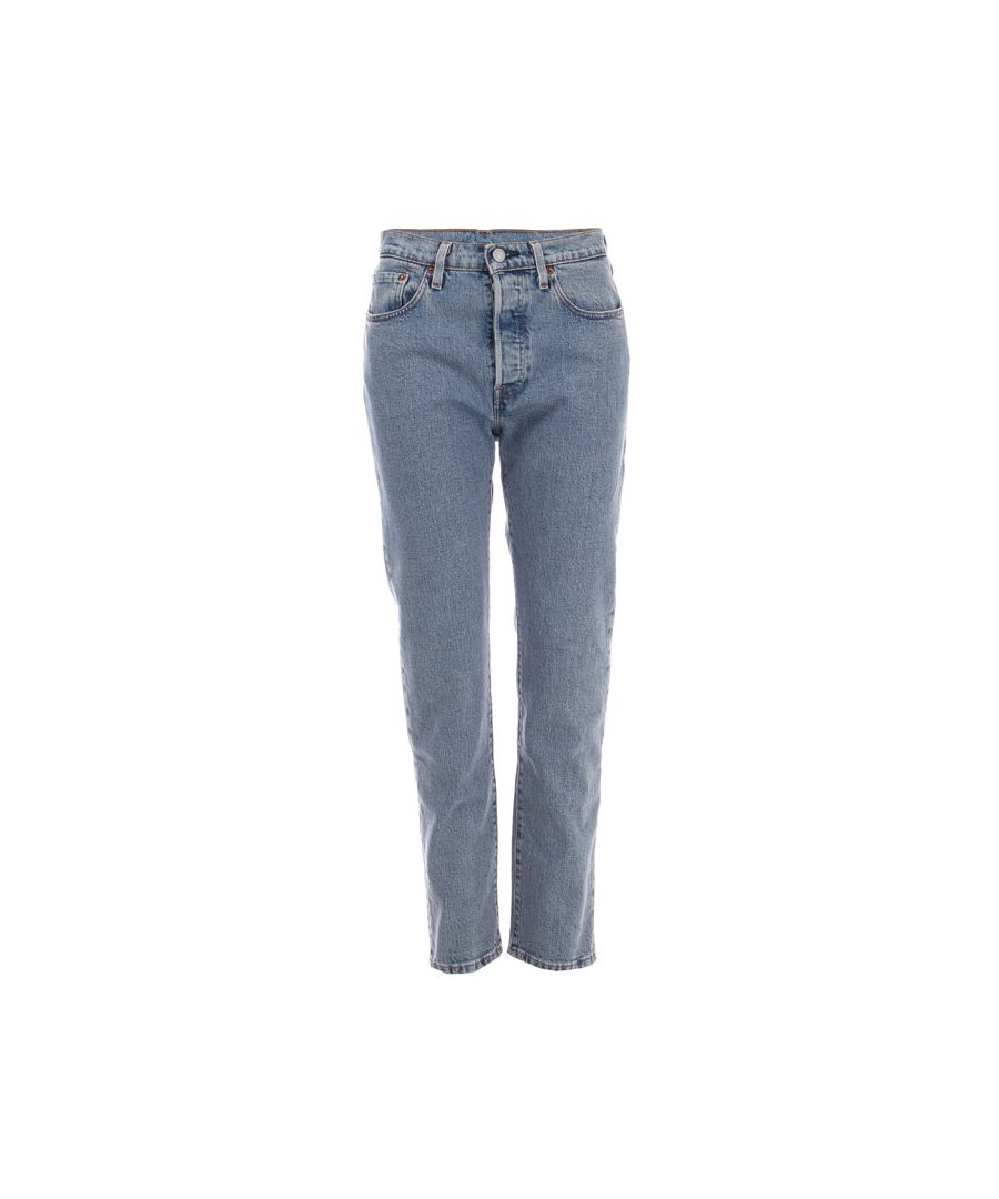 Image for Women's Levis 501 Crop Walking On Air Jeans in Denim