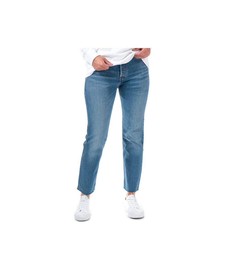 Image for Women's Levis 501 Crop Charleston West Jeans in Denim