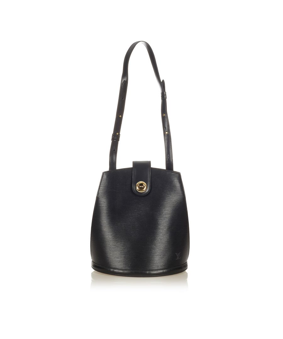 Image for Vintage Louis Vuitton Epi Cluny Black