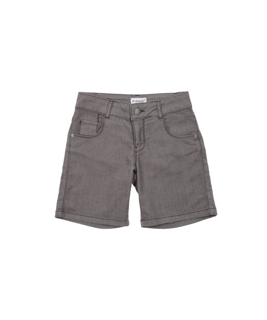 Image for Pinko Up Grey Girl Cotton Shorts