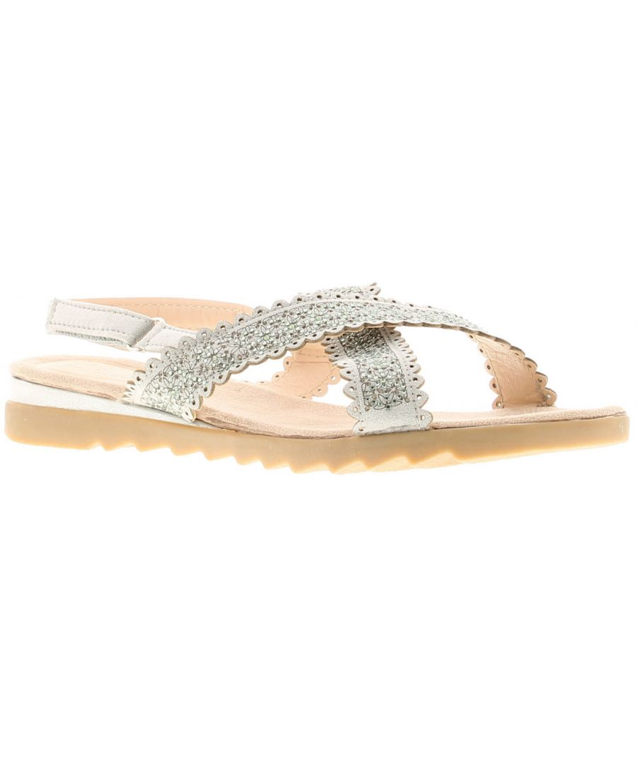 Image for Ladies touch fastening Fastening Pu/Microfibre  Sandal On Tpr Sole