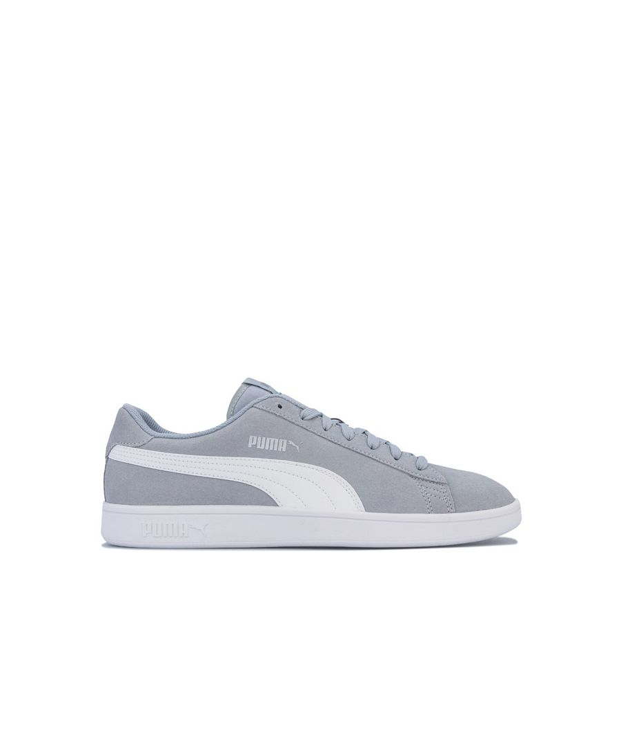 Image for Men's Puma Smash v2 Trainers in Grey White