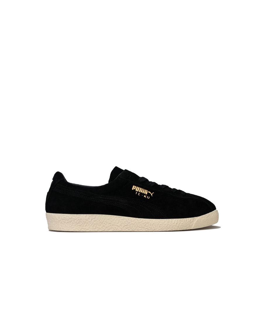 Image for Men's Puma TE-KU Suede Trainers in Black