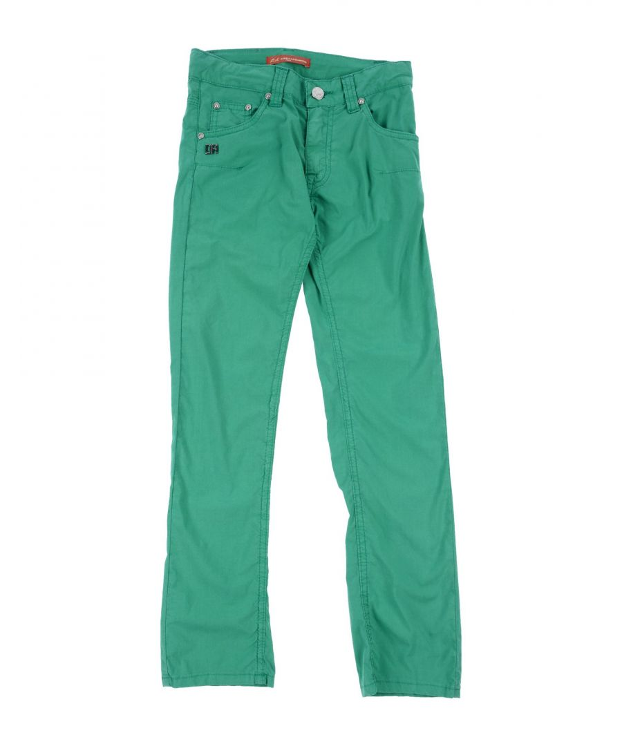 Image for Daniele Alessandrini Green Girl Cotton Trousers