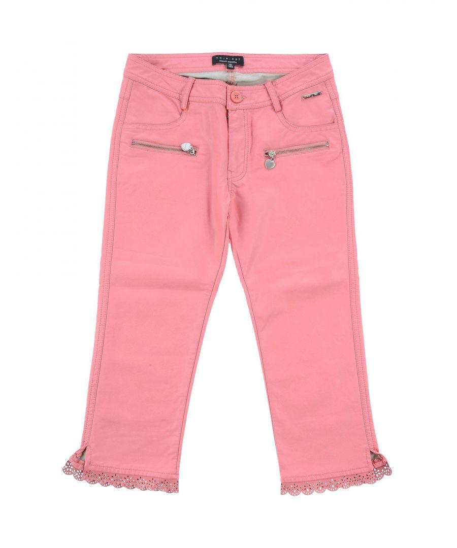Image for PANTS Twinset Pink Girl Polyuretanic