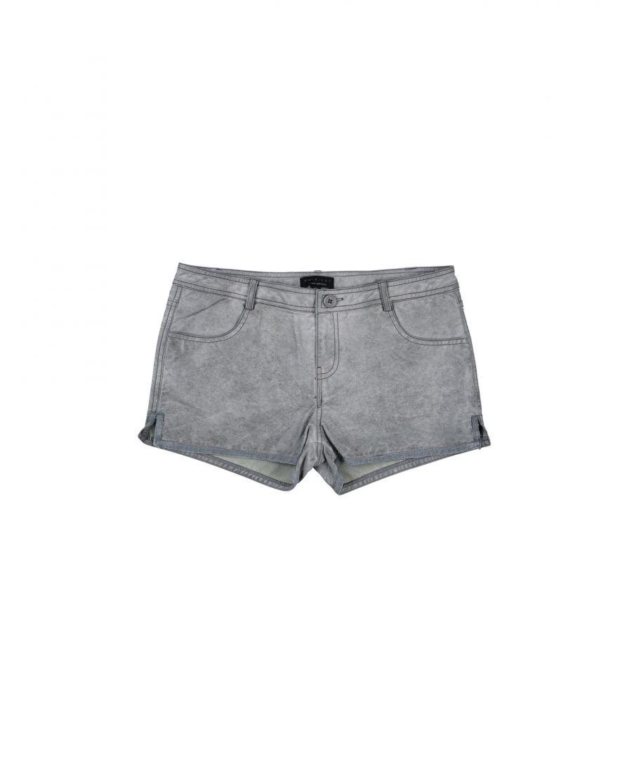 Image for Twinset Grey Girl Polyuretanic Trousers