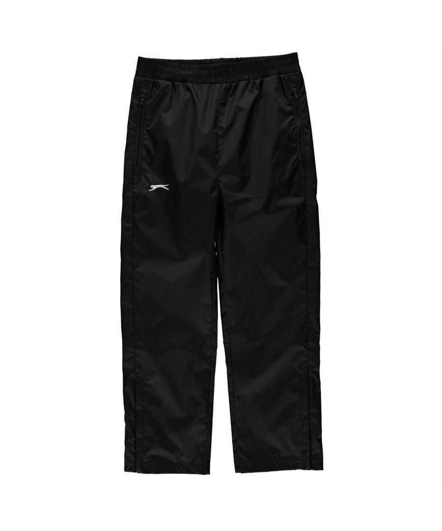 Image for Slazenger Boys Waterproof Pants Junior Elasticated Waistband Trousers Bottoms