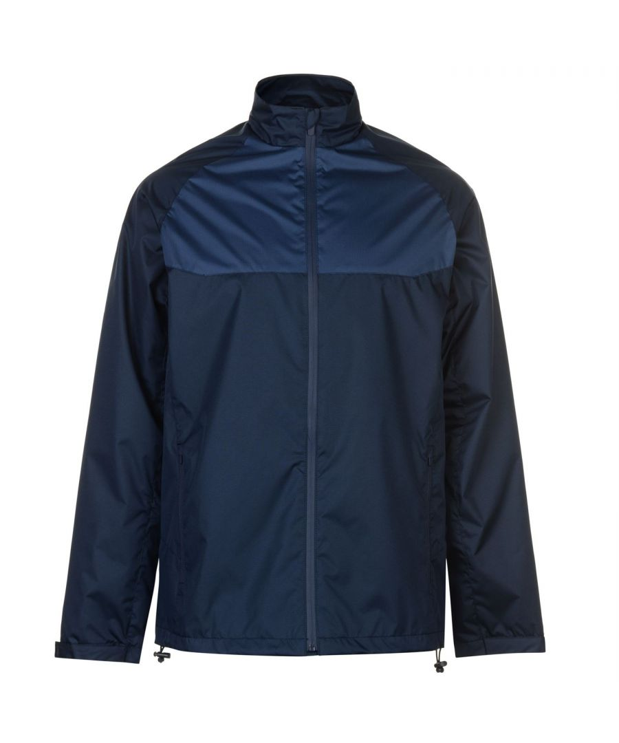 Image for Slazenger Mens Water Resistant Jacket Waterproof Full Zip Long Sleeve Tops