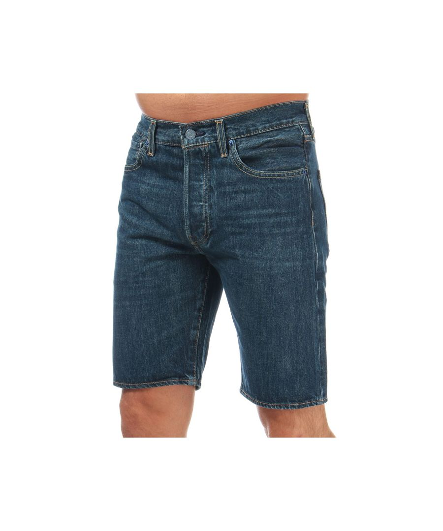 Image for Men's Levis 501 Hemmed Shorts in Denim