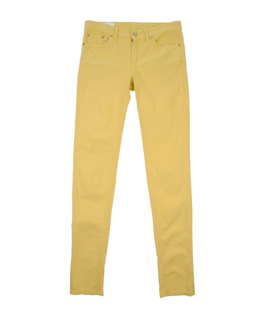 Image for TROUSERS Dondup Yellow Girl Cotton