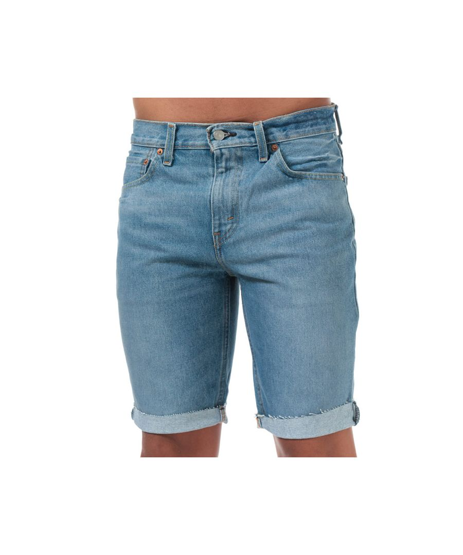 Image for Men's Levis 511 Slim Cut-Off Shorts in Denim