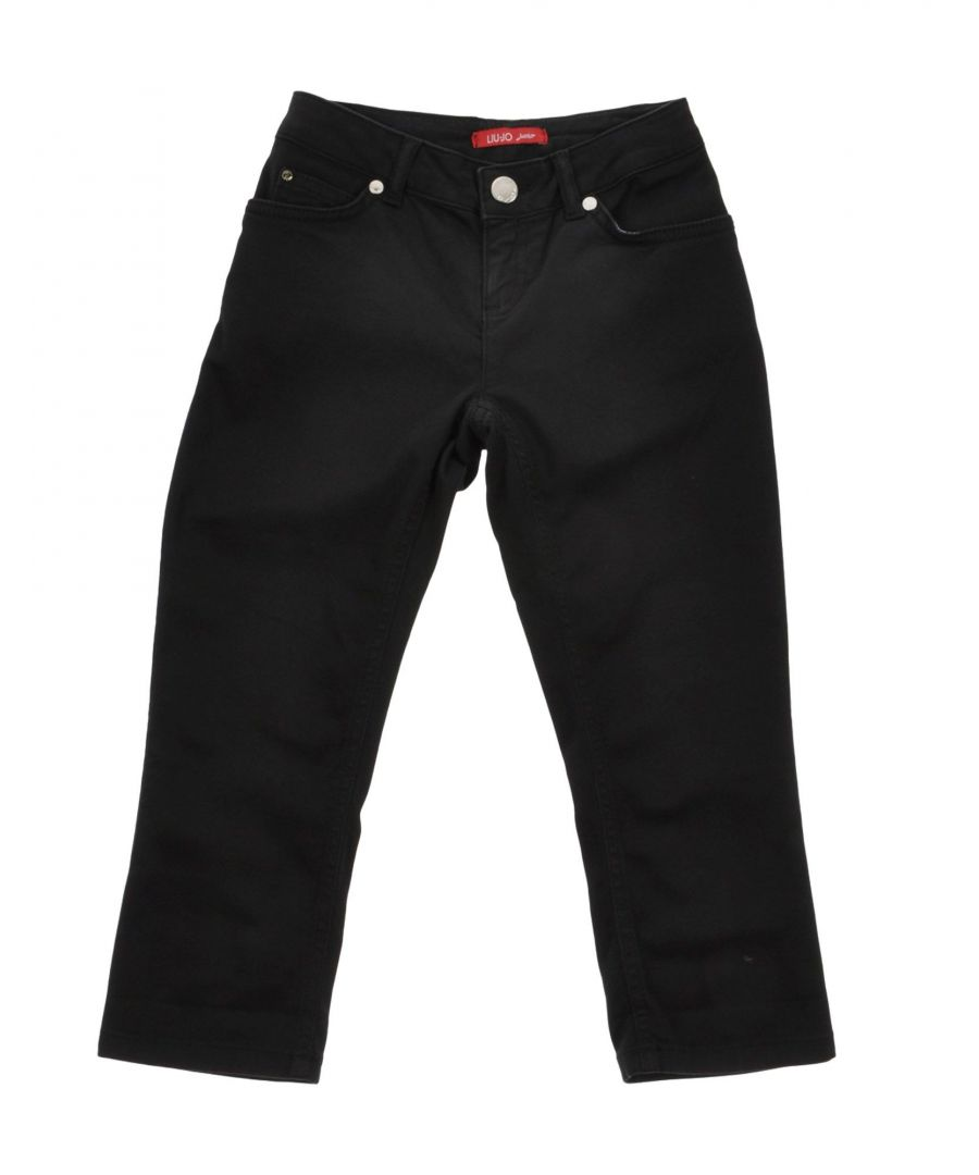 Image for Liu �Jo Black Girl Cotton Trousers