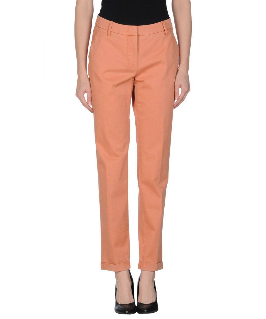 Image for Pme Peserico Woman Casual trousers Salmon pink Cotton