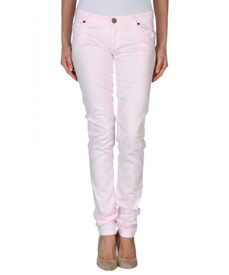 Image for Nenette Women's Casual Trousers Pink Cotton