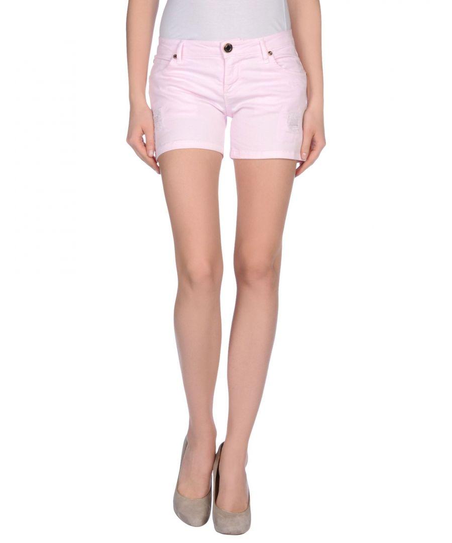 Image for Nenette Women's Shorts Pink Cotton
