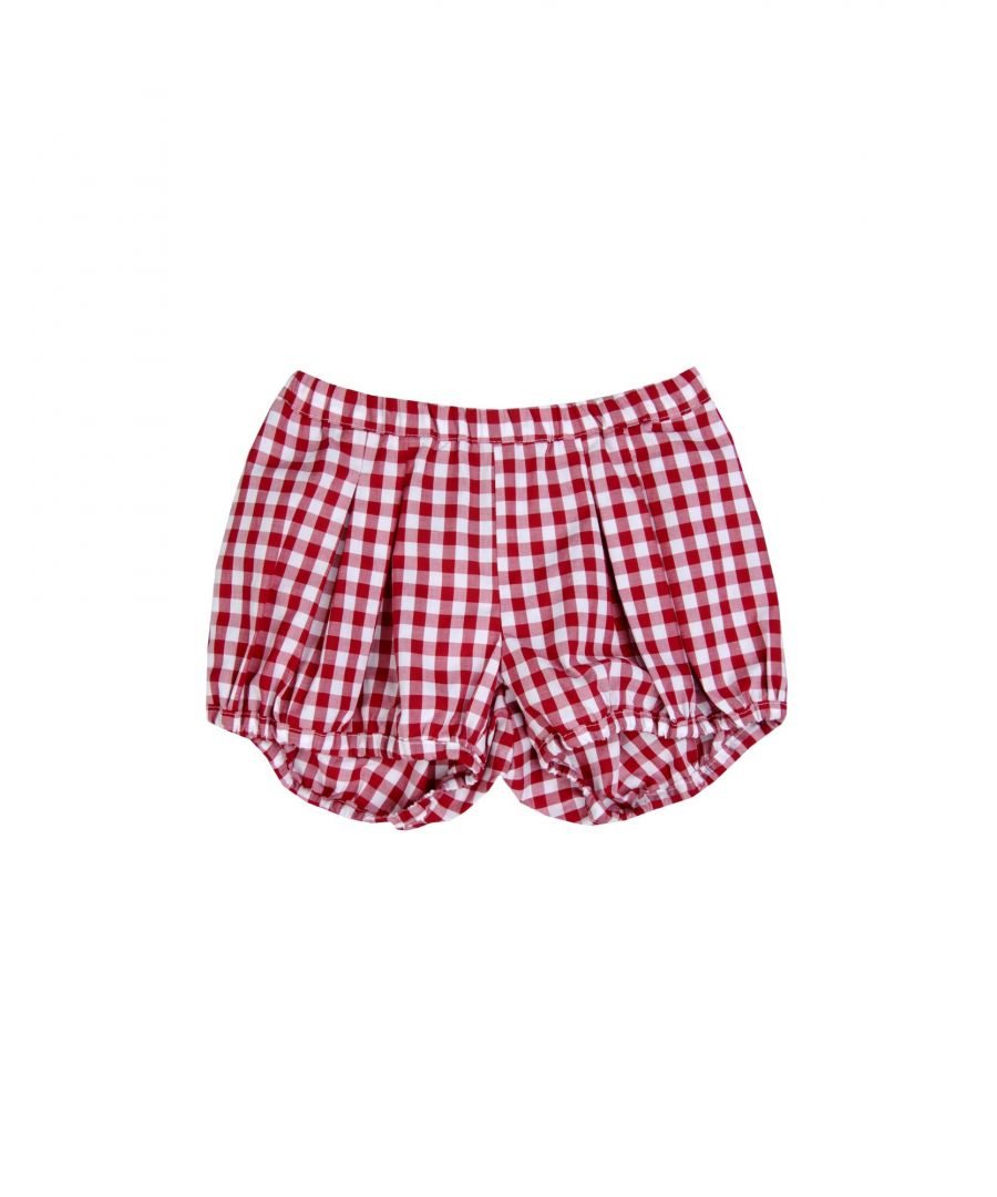 Image for Stella Jean Girl Shorts Red Cotton