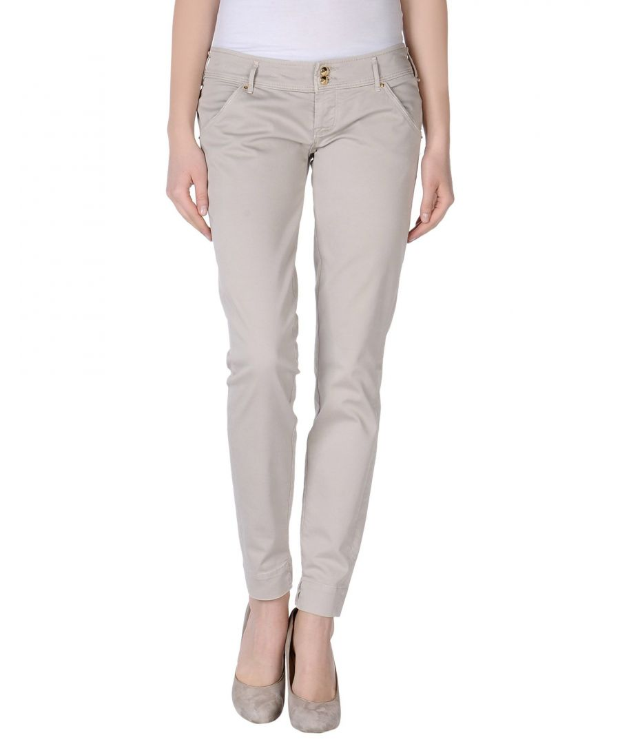 Image for Cycle Light Grey Cotton Trousers