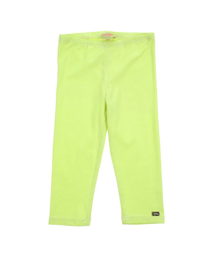 Image for So Twee By Miss Grant Girl Leggings Acid green Cotton