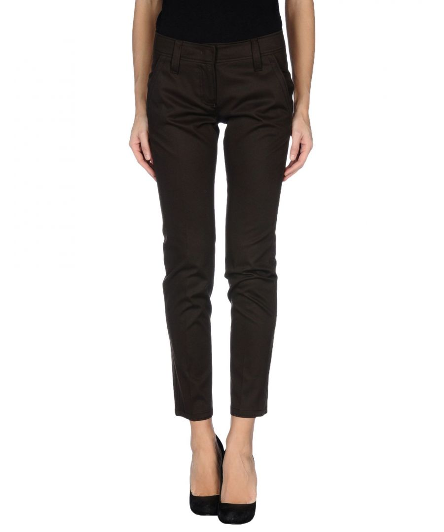 Image for Pme Peserico Woman Casual trousers Dark brown Cotton