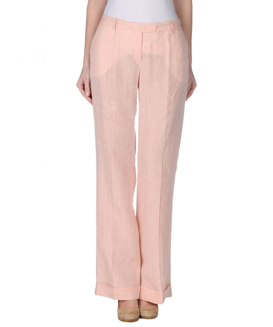 Image for Pme Peserico Woman Casual trousers Pink Linen