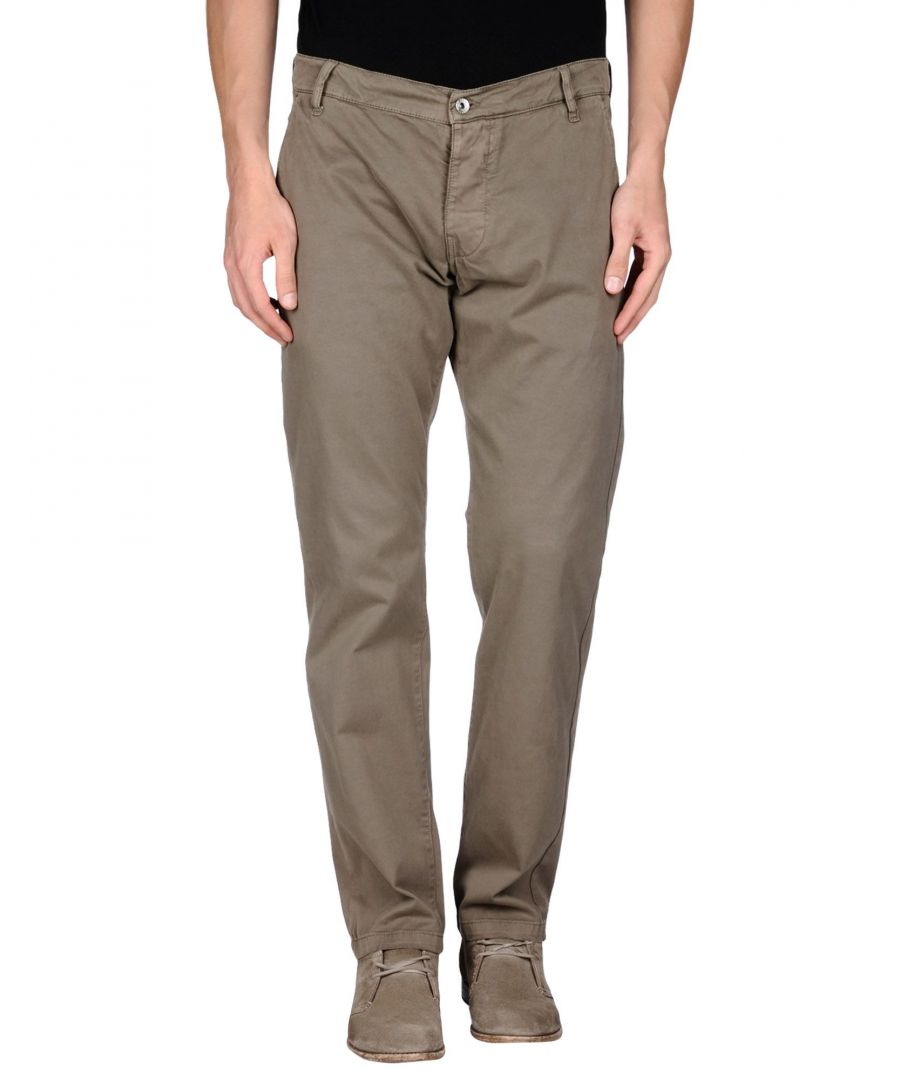 Image for TROUSERS Brian Dales Khaki Man Cotton