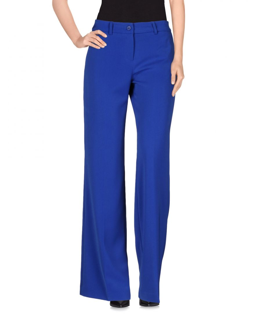 Image for Nenette Woman Casual trousers Bright blue Polyester