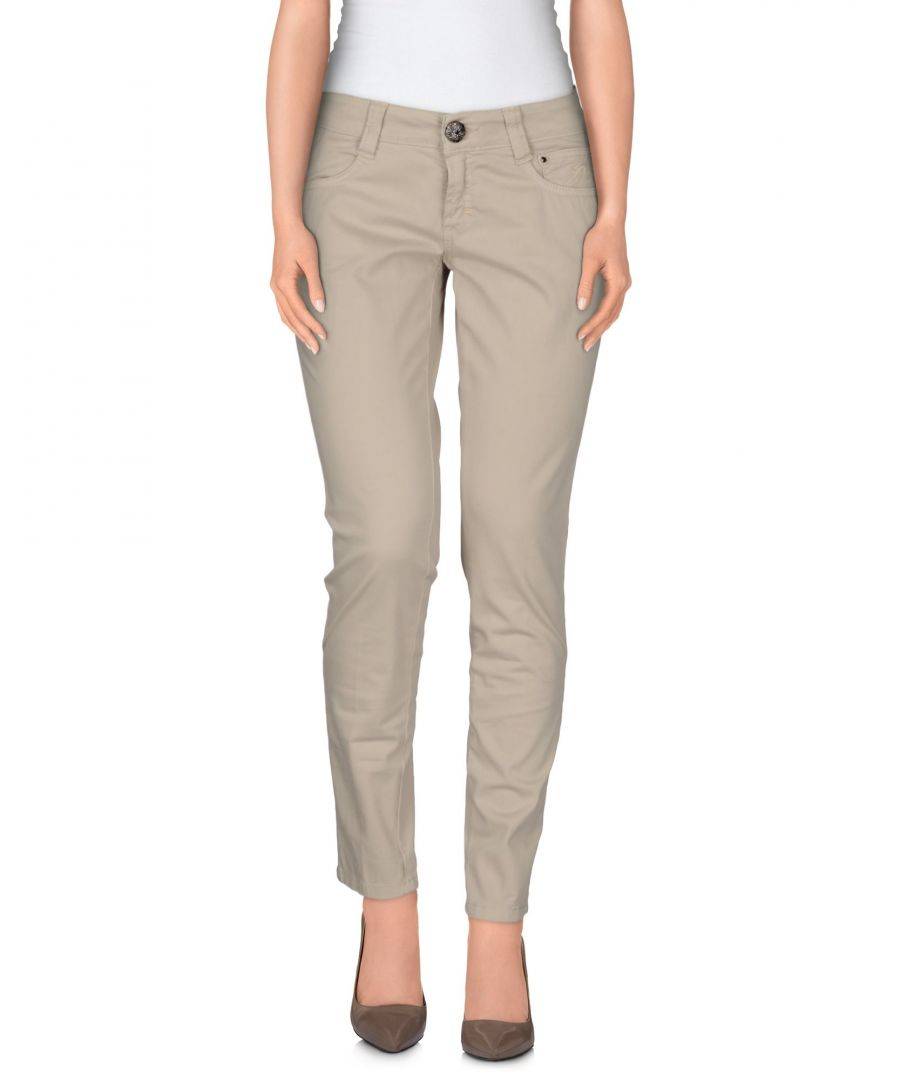 Image for 9.2 By Carlo Chionna Beige Cotton Trousers