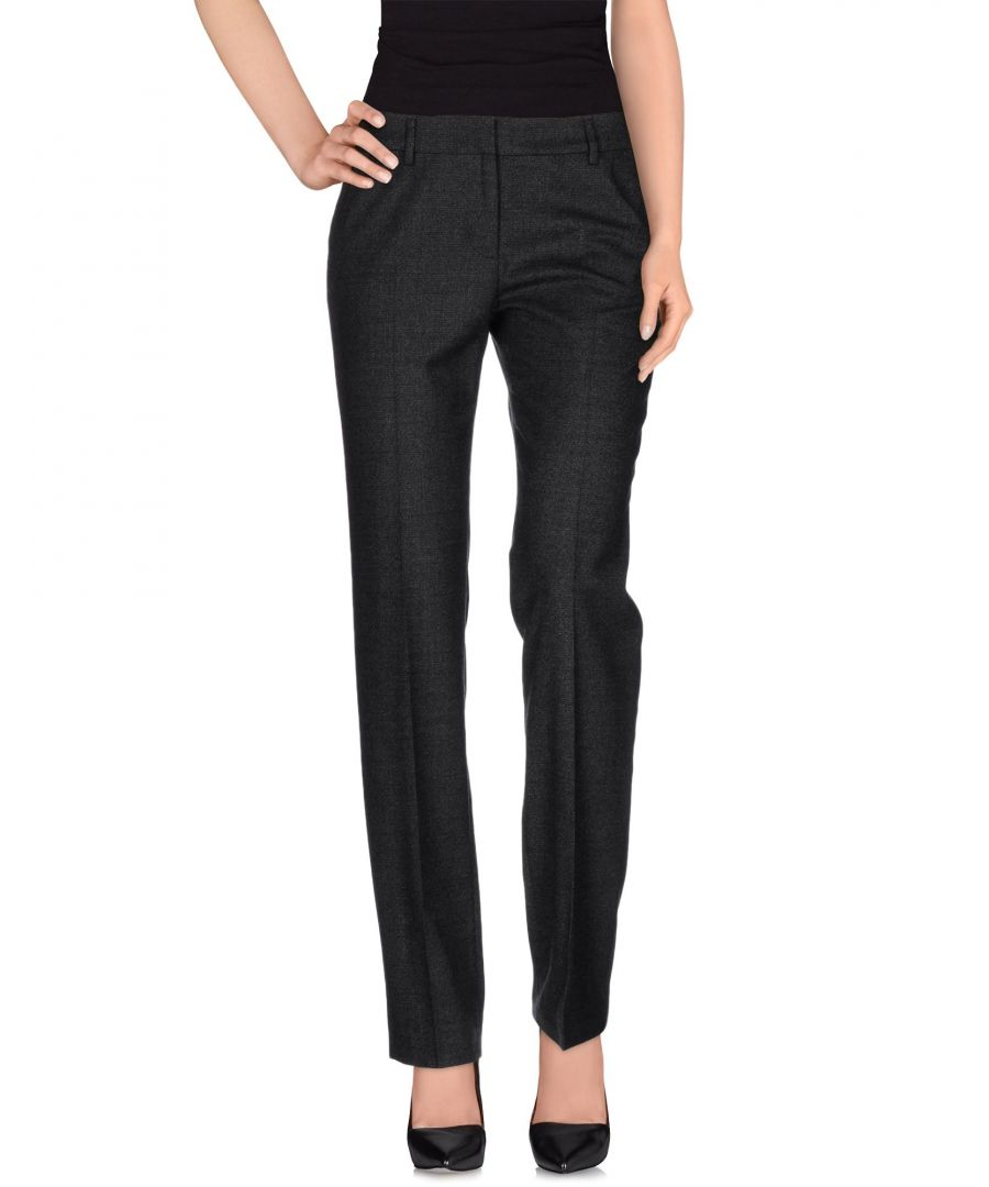 Image for Pme Peserico Woman Casual trousers Lead Virgin Wool