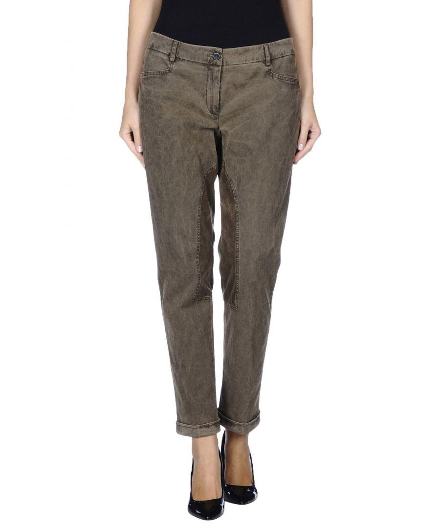 Image for Pme Peserico Woman Casual trousers Khaki Cotton