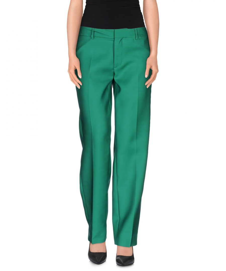 Image for Dsquared2 Green Virgin Wool Trousers